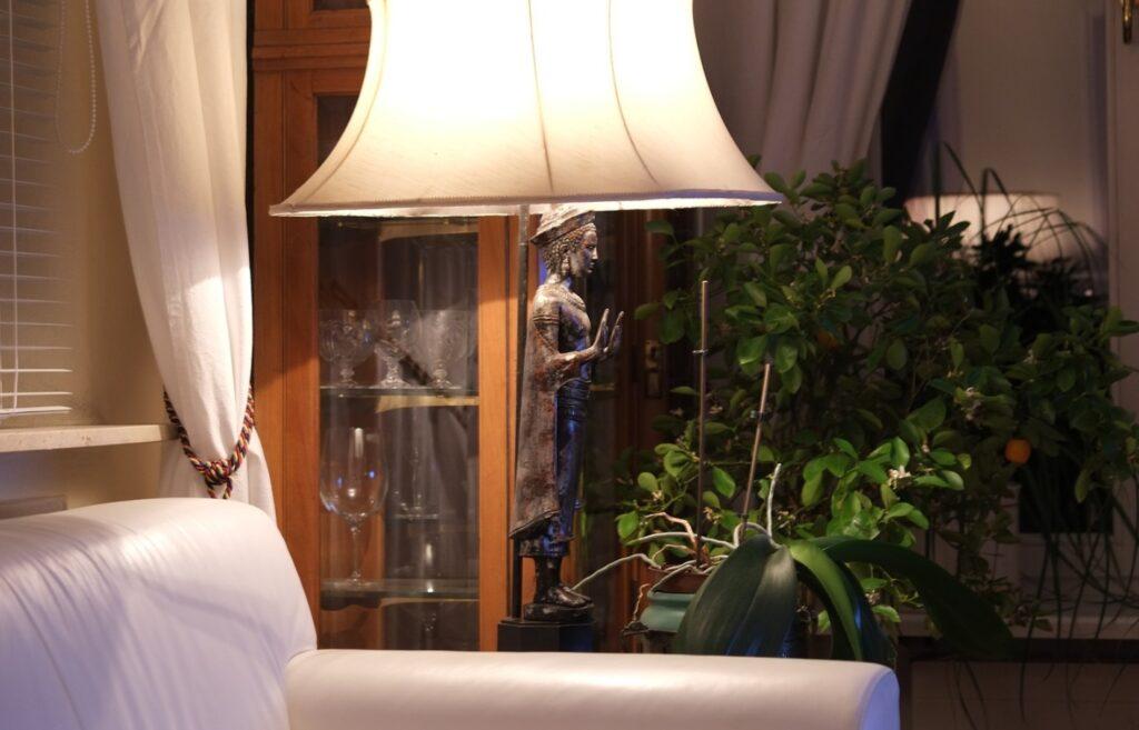 Silk Lampshade