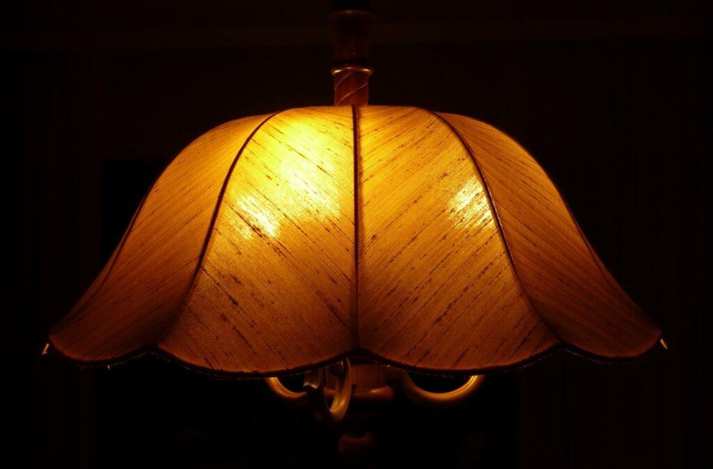 retro lampshade